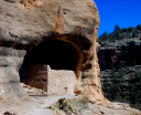 View of Gila Cliff Dwelling