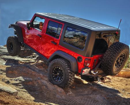Byran's jeep