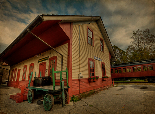 Contoocook Railway Station and Caboose